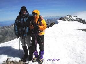 sommet du Pic Bayle